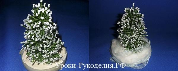 ёлка из бисера, новогоднее дерево, новый год, праздник, подарки, украшение, сувенир