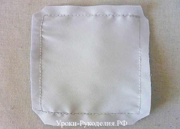 подкладка для подушки, шитьё для свадьбы, украшение свадебное, для колец, мастер-класс по пошиву, выкройка