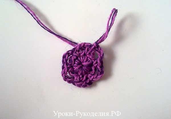 схема вязанного цветка, цветы крючком, вязание для самых маленьких, как связать сумку, сумочка для девочки, мастер-класс, своими руками