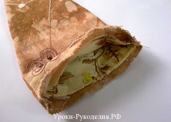 подкладочный материал, винтажная ткань, чехол для ножниц, винтаж, мода, сшить