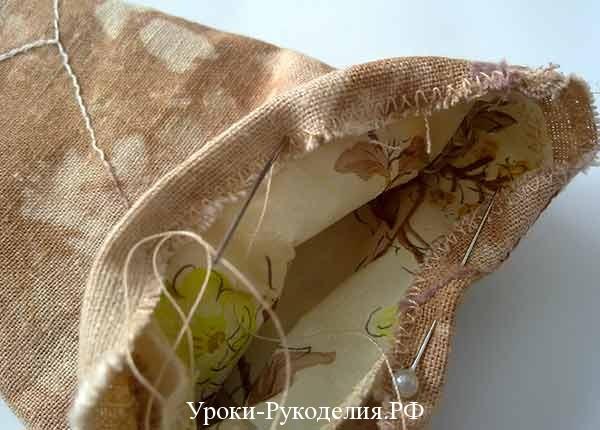 ручной шов, виды швов, чехол для ножниц, винтажный аксессуар, ножницы, шитьё