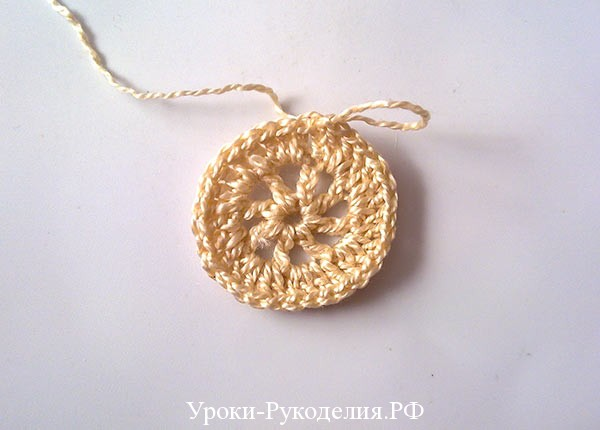 фрагмент ирландского кружева, вязание крючком, украшение крючком, мастер-класс