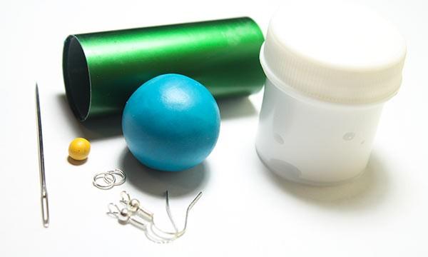 полимерная глина запекание, украшение глина полимерная, пластик, температура запекания, серьги из самозатвердевающей глины