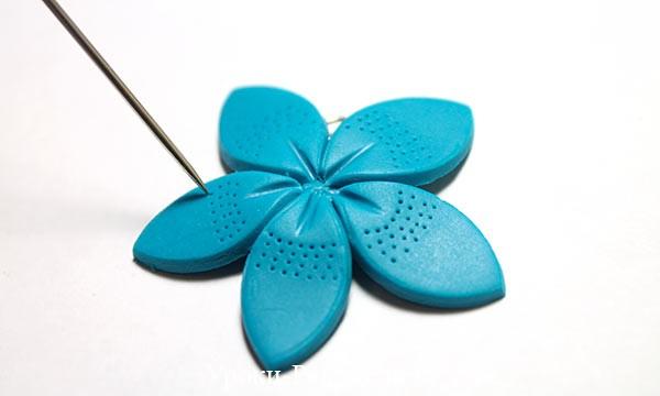 поделки, из полимерной глины, цветы мастер класс полимерная глина, фимо полимерная урок