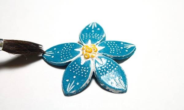 полимерная глина мастер класс, цветы лепка из полимерной глины, инструменты и материалы, всё о глине, украшение серьги, поделки из глины