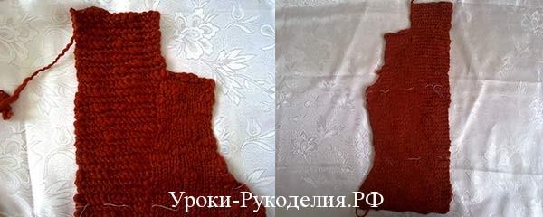 связанный жакет спицами, тёплый жакет с воротником связать, узор для жакета, вязание спицами