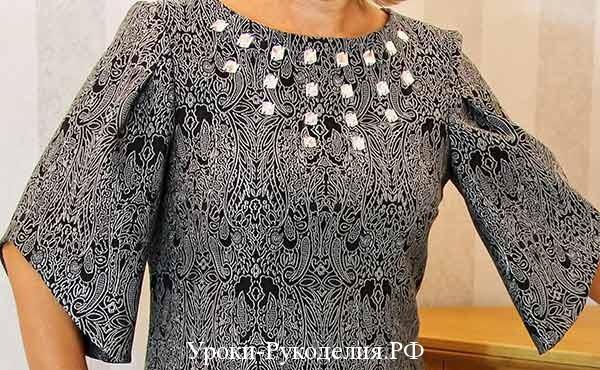 для начинающих шитьё, выбрать фасон платья, сшить модель платья прямого