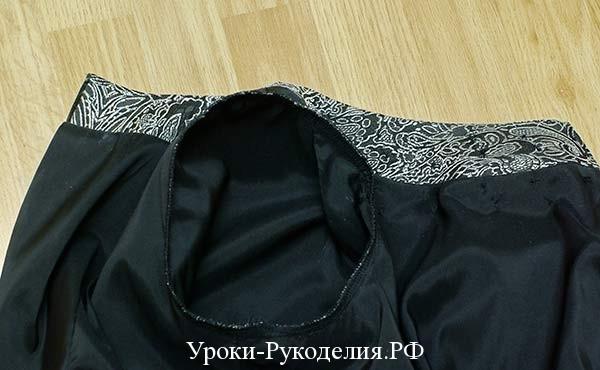декорировать стразами платье, обмёточный шов