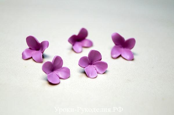 полимерная глина изделия, цветок из полимерной глины, украшение серьги цветы