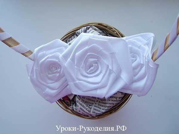 оформить букет своими руками, невеста букет, корзинка цветов своими руками