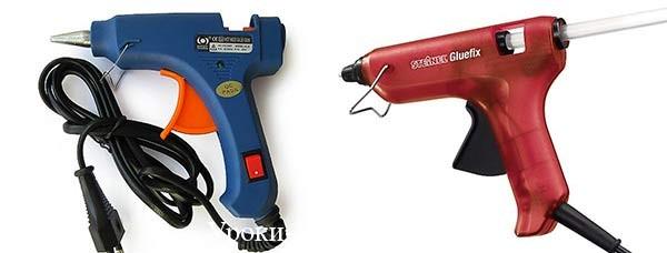горячий клеевой пистолет, пистолет в рукоделии, стержень для клеевого пистолета