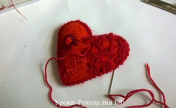 сувенир ко дню святого валентина, сердце сделать руками
