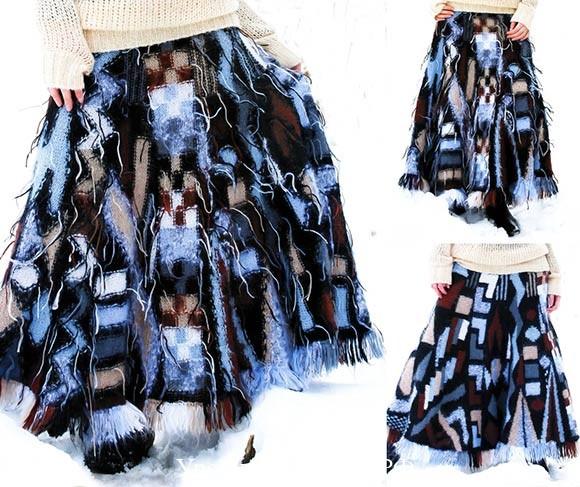 интарсия вязание спицами техника, связать юбку в пол