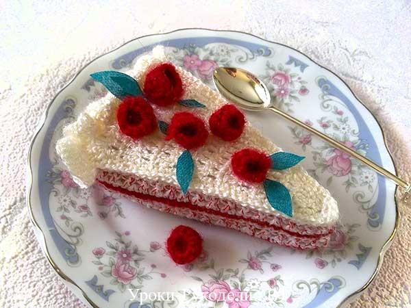 малина торт вязать, игрушка ребёнку вязать