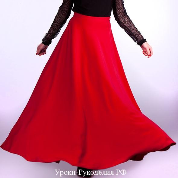 длинная юбка пошить быстро