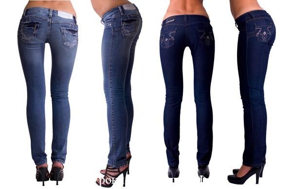 выбрать джинсы с заниженной талией