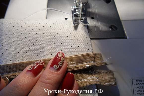 шить своими руками женскую косметичку