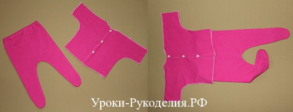 кофточка и штанишки для малыша шитые