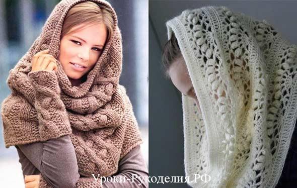 шарф-снуд как носить