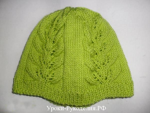 шапочка для девочки 1 год