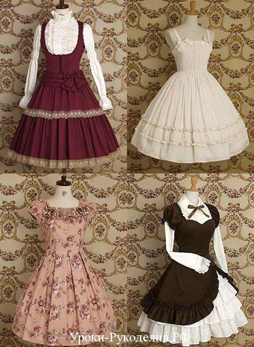 платье стиля лолита
