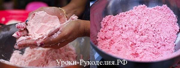 рецепт приготовления лунного песка