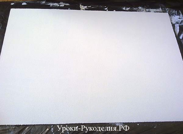 загрунтованная полотно для картины