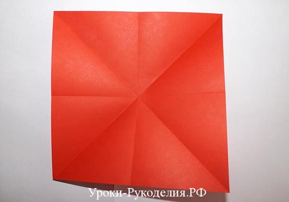 оригами бант из бумаги
