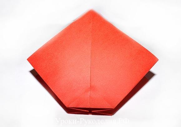 фигурка банта из бумаги