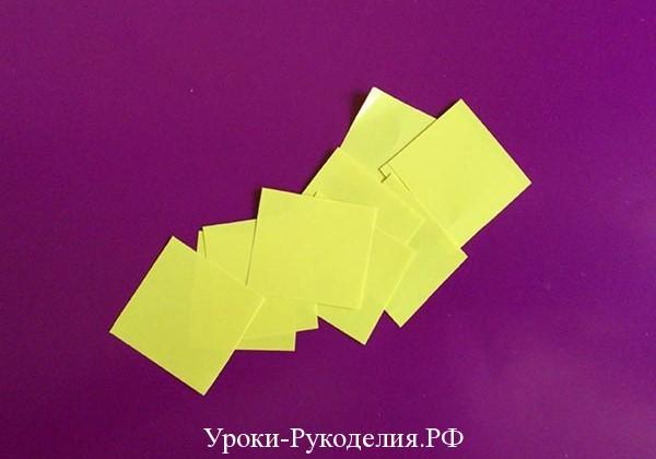 модульное оригами цветок как сделать