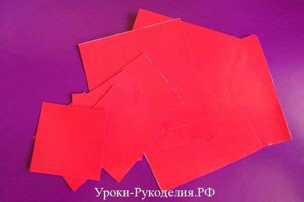 модульное оригами цветок
