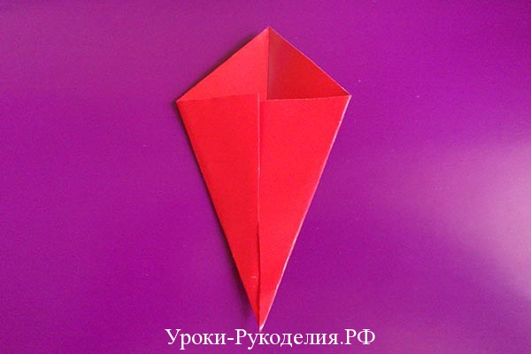 завернуть уголки оригами