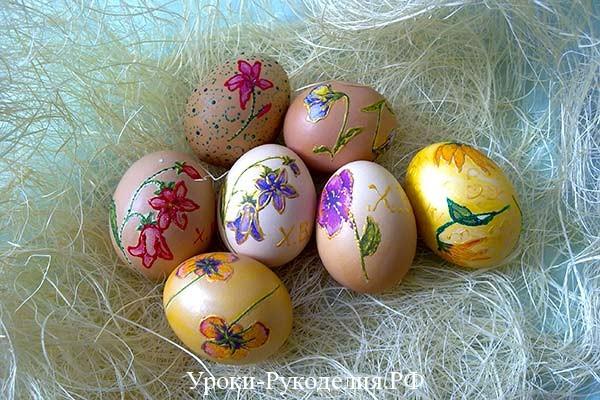 декор пасхального яйца