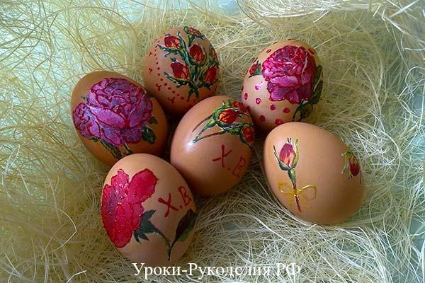сувенирные яйца сделать