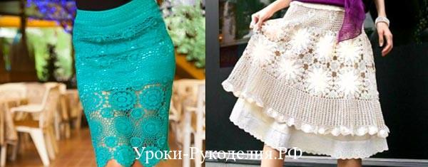 советы с чем носить прозрачные юбки