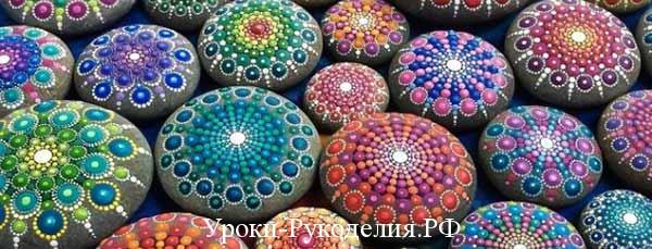 красивые рисунки на камнях