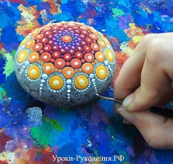 рисовать на камне