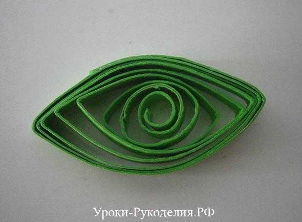 форма глаз квиллинга