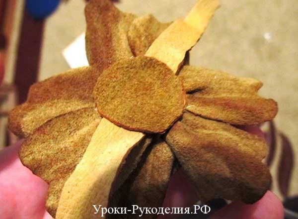 цветок на руку украшение