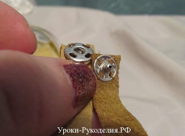 кнопка застёжка на браслет