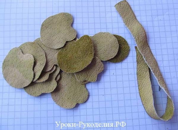 цветок для браслета