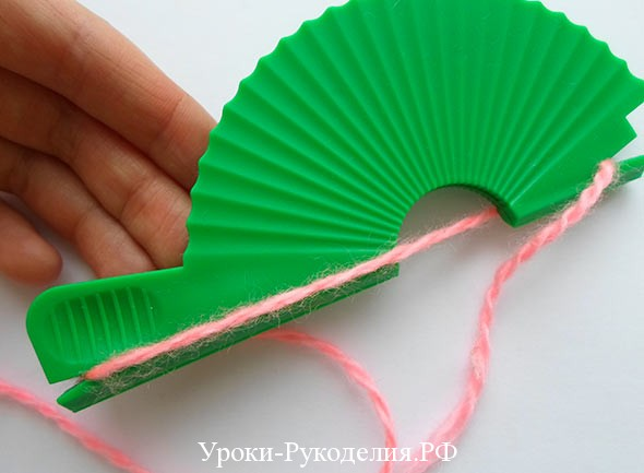инструмент для изготовления помпонов
