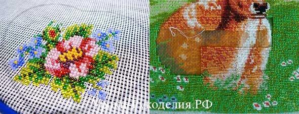 вышивка картин бисером