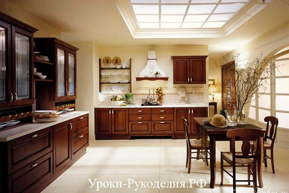 дизайн кухни стили