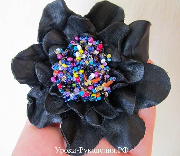 цветок для сумки