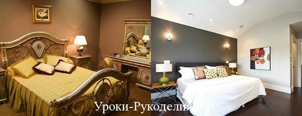 Обустраиваем интерьер спальни