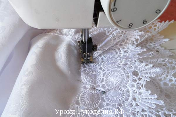 урок по шитью для малыша