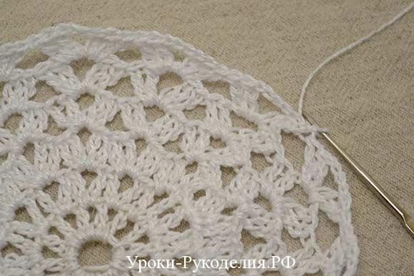 из ниток вязание