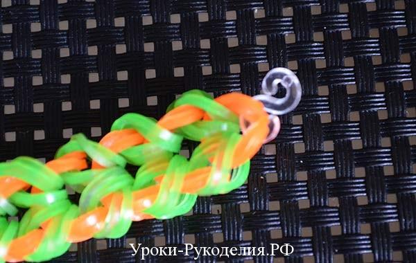 крючок для браслета из резинок