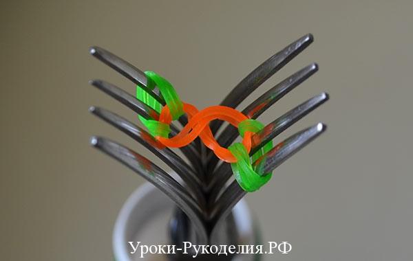 цветные браслеты из резинок